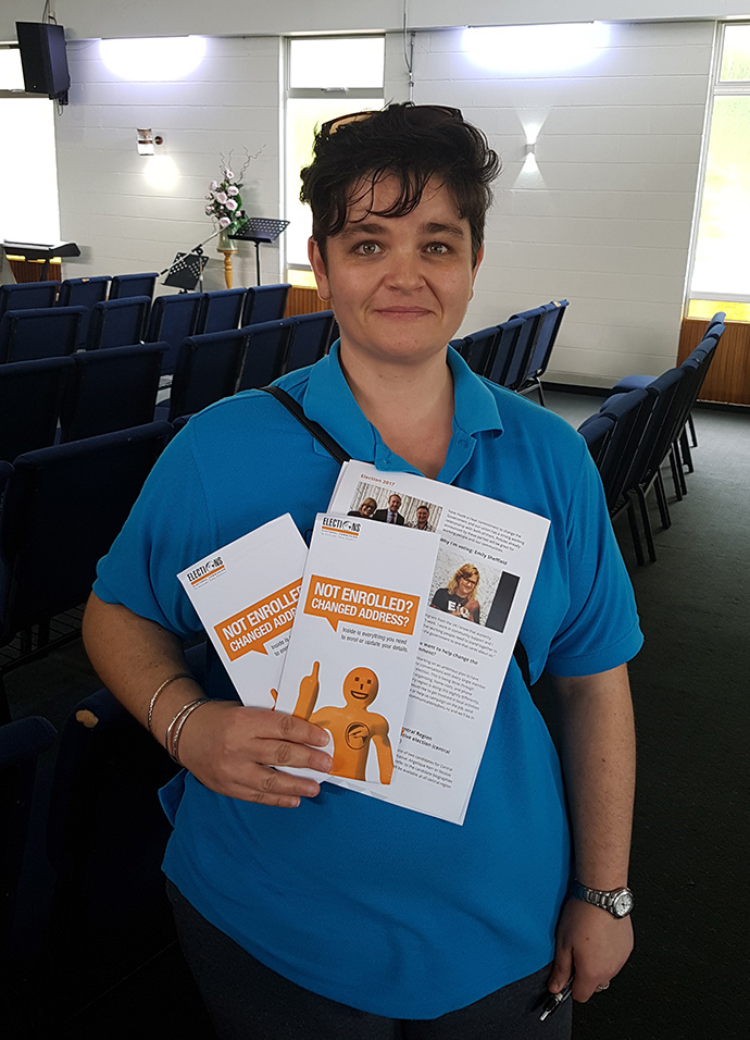 Tracie Hoeg, New Plymouth home support worker
