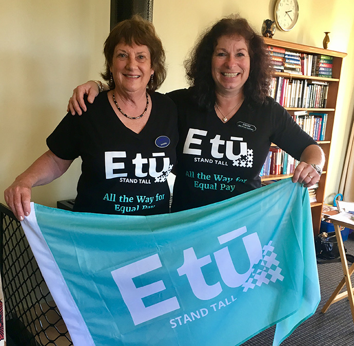 Wairarapa member leaders, Sandra Blake and Simone O'Connor