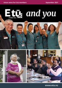 E tū and you September 2021 cover